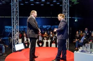 Keynote bij ICTDag Rijksoverheid met dagvoorzitter Danny Mekic